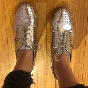 Sam Edelman Lace Up Loafers